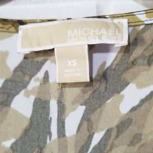 MICHAEL Michael Kors Tops - MICHAEL by Michael Kors Blouse Abstract Print